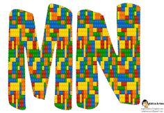 Alfabeto de Lego. | Oh my Alfabetos!
