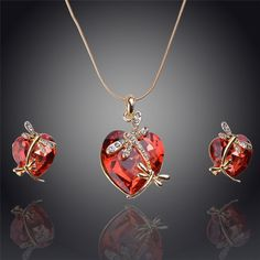 Fabulous #Jewelry Sets, #Crystal Jewelry Set, with #Rhinestone.