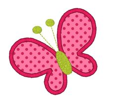 Butterfly Applique Machine Embroidery Design-INSTANT DOWNLOAD. $3.00, via Etsy.