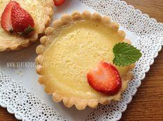 Tartaletky s citronovou náplni Party Cakes, Cheesecake, Food And Drink, Pie, Pudding, Sweet, Cupcakes, Flow, Lemon