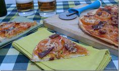 Receta de Pizza Serranita por Espe Saavedra