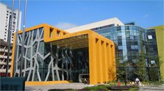 Fuzhou Children Library used aluminum honeycomb panel as ceiling application