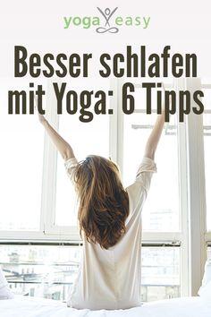 Besser schlafen mit Yoga: Diese Tipps helfen beim Einschlafen und Durchschlafen