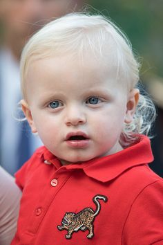 Prince Jacques of Monaco attends the annual traditional 'Pique Nique Monagasque' on September 10, 2016 in Monaco, Monaco.