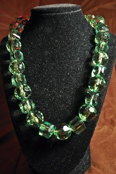 Green Sparkles by PleasanTreesJewelers on Etsy, $22.00