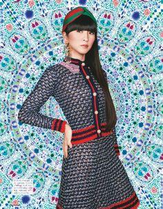 Perfume (JPN) &Girls - popsister: Numero TOKYO May 2016