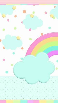 Pastel Rainbows Clipart Scrapbook printables, Vector ...