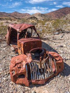 Abandoned Vintage Rusty Car is a photograph by Alyaksandr Stzhalkouski. Abandoned vintage rusty car in Death Valley. Source fineartamerica.com