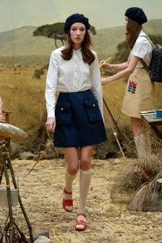 A Wes Anderson-Inspired Collection We're Crushing Over Hard #refinery29 http://www.refinery29.com/orla-kiely#slide-25