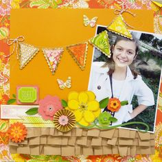 Scrapbook Layout using @Anna Totten Totten Griffin, Inc. Scrapbook.com: The Carmen Collection