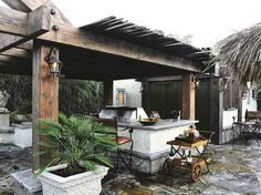 How To Build Outdoor Kitchen with classic deisgn