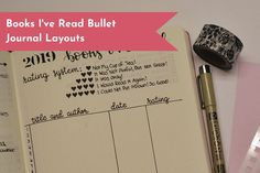 Bullet Journal List Layout bullet journal list layout the small print. As an alternative of making an attempt to write a full narrative of the event you are scrapbooking, use s. Bullet Journal Book List, Bullet Journal Examples, Creating A Bullet Journal, Bullet Journal Layout, Book Journal, Bullet Journals, Minimalist Book, Reading Tracker, Descriptive Words