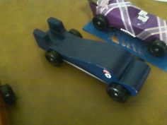 Dolphin Pine Wood Derby Car