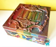 Monkey Decorations, Big Project, My Little Girl, Decorative Boxes, Metal, Projects, Gifts, Instagram, Home Decor