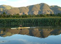 Canoe on the Stanford river. You absolutely have to take a dip in this scenic stream