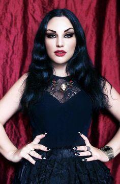 Photo: Dusan Knezevic Model: Kali Noir Diamond Jewelry: Elwings Edit: Dorothy Dew Welcome to Gothic and Amazing   www.gothicandamazing.com