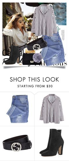 """""""Fashion style"""" by betty-boop23 ❤ liked on Polyvore featuring Taya and Gucci"""