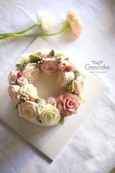 프로포즈케익/꽃케이크 : 네이버 블로그