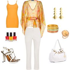 Summer Outfit, created by lilmomma3