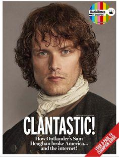 outlanderitaly:   Outlander Covers Radio Times...   My Dashing Highlander