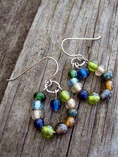 http://www.etsy.com/listing/155250886/small-glass-bead-hoop-earrings