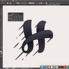 H Process • Follow us @logoimport for more • Work by @roma_kaer • Tag @logoimport use #logoimport & follow us to get featered • #logotype…