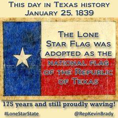 Texas Flag History