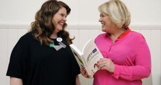 Róisín Ingle and Natasha Fennell at the launch of their book, The Daughterhood. Photograph: Dave Meehan/The Irish Times
