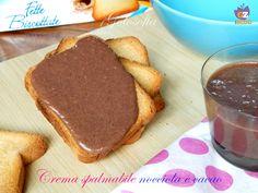 Crema spalmabile nocciola e cacao, ricetta veloce buonissima