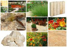 Aménagement extérieur et plan 3D de jardin chaleur et convivialité Eden Design, Stepping Stones, Outdoor Decor, Plants, Inspiration, 3d, Gardens, Mediterranean Garden, Travertine