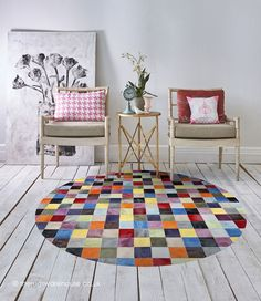 Patchwork Patterns, Patchwork Rugs, Small Playroom, Yarn Crafts For Kids, Circular Rugs, Cosy Corner, Princess Room, Circle Rug, Leather Projects