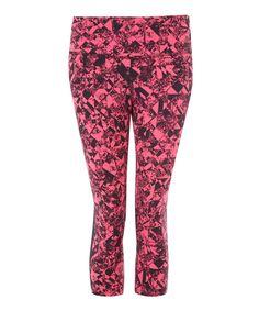 Nike Epic Lux Print Crop Running Leggings   Womenswear   Liberty.co.uk