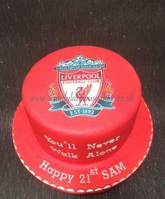 All about recipes food Teen Boy Birthday Cake, Football Birthday Cake, Dad Birthday Cakes, Novelty Birthday Cakes, 8th Birthday, Dad Cake, 40th Cake, Liverpool Cake, Lightning Mcqueen Birthday Cake