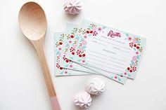 Un preferito personale dal mio negozio Etsy https://www.etsy.com/listing/252370967/recipe-cards-set-of-10-kitchen-made-in