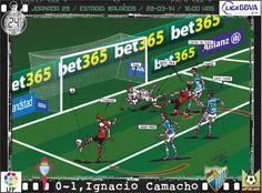 RC Celta de Vigo, 0 - Málaga CF, 2 - Ignacio Camacho, 0-1, min. 24'