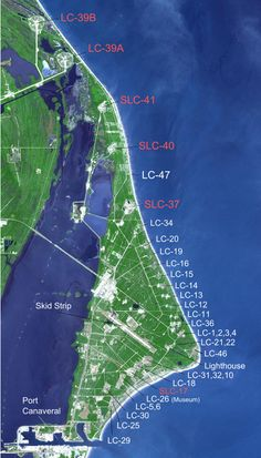 cape canaveral launch pads