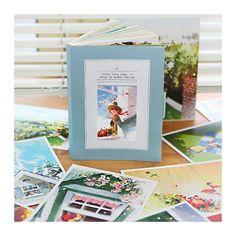 Indigo The fairy tale story illustration postcard book - Kim ji hyuk
