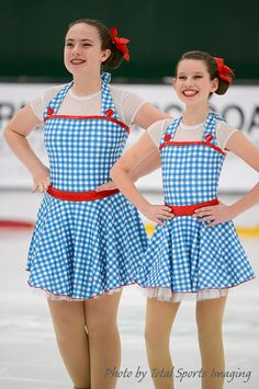 Dorothy- Wizard of Oz themed skating dresses Chicago Radiance FSC 2014-2015