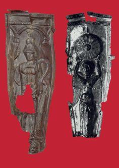 Roman gladius scabbards, 1st cent CE