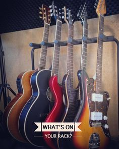 What's on your rack? #guitars