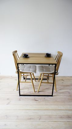 Moderner Esstisch Im Industriedesign, Esszimmer / Modern Dining Table,  Wooden Table, Industrial Design