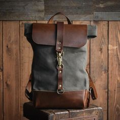 Folkland - Rolltop Ruck, Sturdy Backpack, USA Made