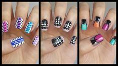 Easy Nail Art For Beginners!!! #16  | MissJenFABULOUS