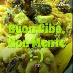 Frittura. Coco's - Pizza e Cucina Mediterranea - Tarquinia Lido (Vt) 338/6064127