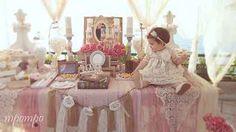 Στολισμός :: Στολισμός Βάπτισης :: Στολισμός Βάπτισης Vintage stb095