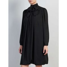 BuySomerset by Alice Temperley Bow Dress, Black, 6 Online at johnlewis.com