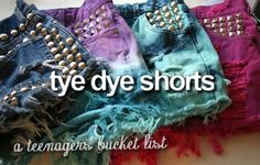 a teenagers bucket list tumblr - Yahoo! Image Search Results