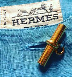 Hermés silk dress detail Lerario Lapadula Fashion Archives 1989 ca   #fashion #museum #hermes #moda #button #luxury #dress #vintage #museodellamoda