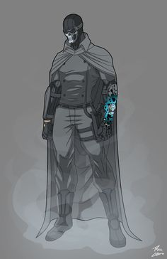Gray Ghost Redesign commission by phil-cho.deviantart.com on @DeviantArt