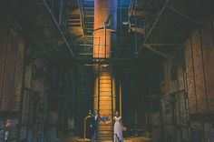 Who knew getting married at an old power station could be so beautiful. Old Power Station wedding in Spain